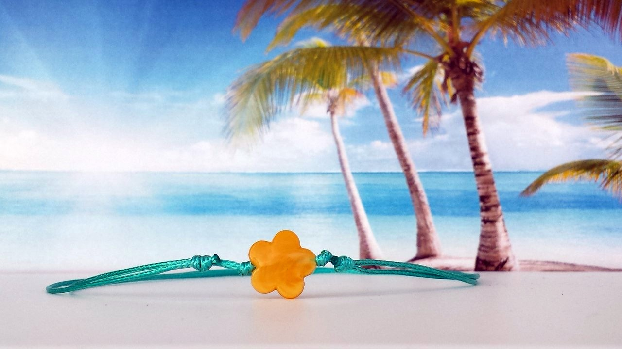 Kette-Surfer-Outdoor-Beach-Yoga-Flower